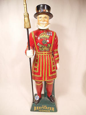 Beefeater Gin Figural Royal Guard Dry Gin Ceramic Decanter