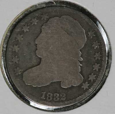 Nice Problem-Free 1832 Capped Bust Dime