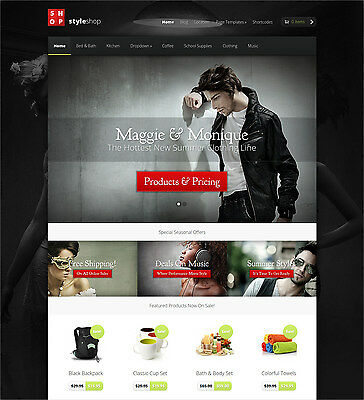 Website/Blog, StyleShop Theme from Elegant Themes - $99 Only, 5-day delivery!