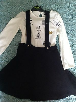 Girls Dress & Top Set George 4-5 Yrs BNWT