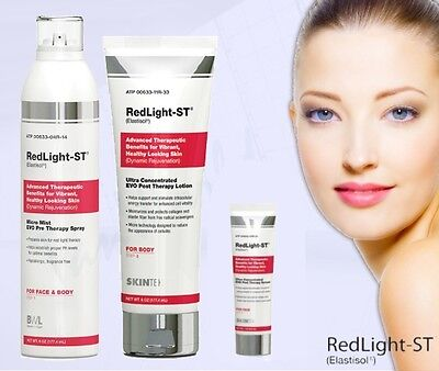 Red Light Collagen Therapy 3 StepTreatment Enhancer Serum & Lotion Package Deal