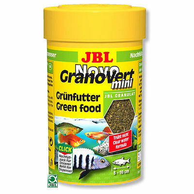 JBL NovoGranoVert mini  Novo Grano Vert  Mini green food granulate 100ml