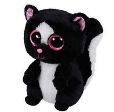 Genuine Official TY Beanie Boo's FLORA Skunk Soft Plush Animal Canada seller