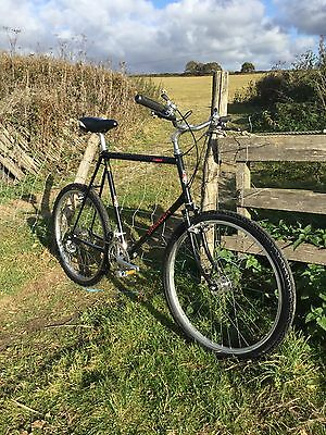 Vintage Mountain Bike, 1980s Saracen Conquest ,biopace Era,retro vintage bicycle