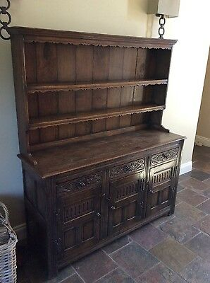 Beautiful antique oak dresser