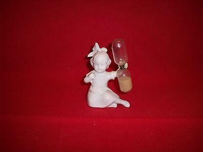 Vintage Little Girl Germany Egg Timer