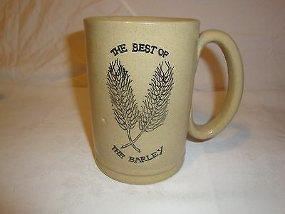 Moira Stoneware Pottery England The Best Of The Barley Beer Mug Cup Stein