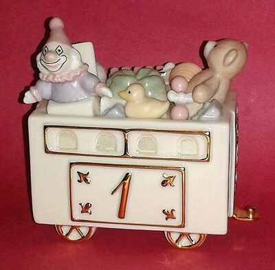 LENOX Porcelain * Happy Birthday Express Fantastic First * Train Candle Holder