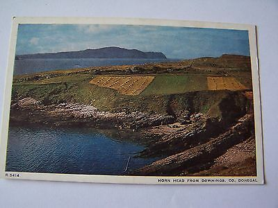 Vintage Postcard Horn Head from Downings Co Donegal