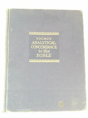 Young's Analytical Concordance to the Bible by Robert  Young 1969