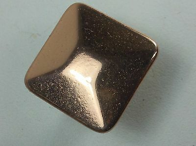 "1"" sq Copper Drawer Pull Bauerware B10-23 Art Deco Arts and Crafts"