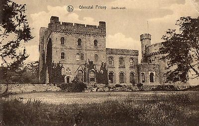 GLENSTAL PRIORY SOUTH-EAST, LIMERICK IRELAND POSTCARD by ERN THILL BRUXELLES