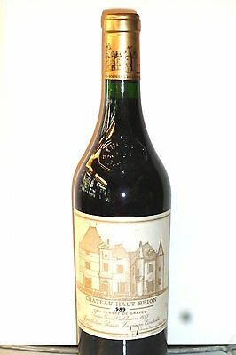 1 bt. Chateau Haut Brion 1989 - points 100 /100 Robert Parker e Wine Spectator .