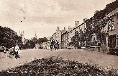 ROSTREVOR CO. DOWN IRELAND IRISH POSTCARD by LAWRENCE POSTED AUGUST 1913