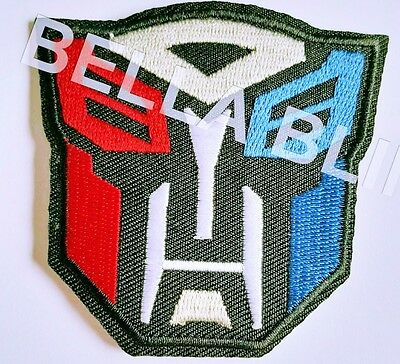 1 Boys Transformers Iron On Sew On Patch Girls Clothes Craft