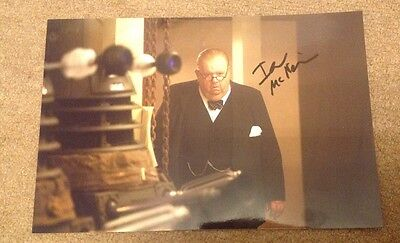 IAN McNEICE   - DR WHO    - SIGNED COL PHOTO  - 10 x 8 Inches   -  AUTHENTIC