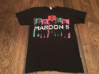 MAROON 5 mens S small 2013 North American Tour shirt alternative indie hipster ~