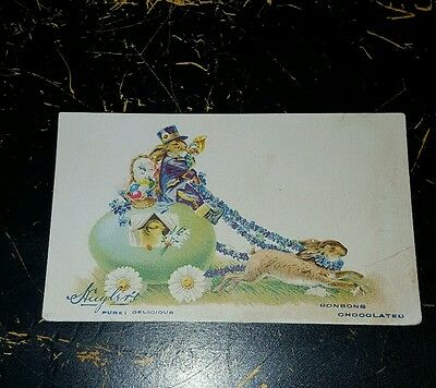 Victorian Trade Card HUYLERS COCOA & CHOCOLATE FREE SHIPPING