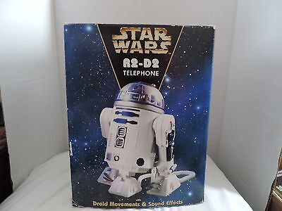 Vintage Star Wars R2-D2 Droid Movements & Sound Effects phone 1997 Phone