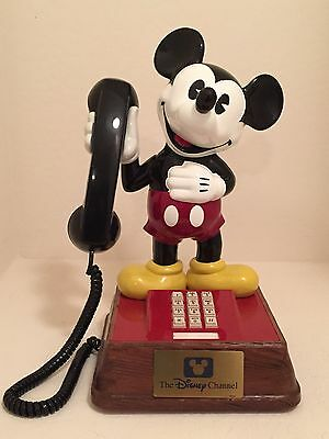 Vintage Mickey Mouse Push Button Phone