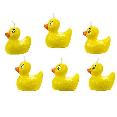 Wilton Rubber Ducky Birthday Candle Set - Cake Party Supplies Candles Duck
