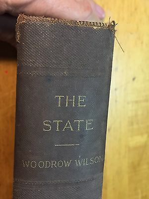 The State by Woodrow Wilson