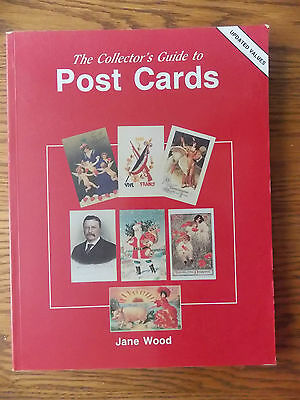 Post Cards Collector Value & Reference Guide  by Jane Wood-Illustrated