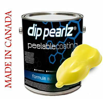 Dip Pearlz Peelable Rubber Coating - Yellow Matte Ready-to-Spray Plasti Dip