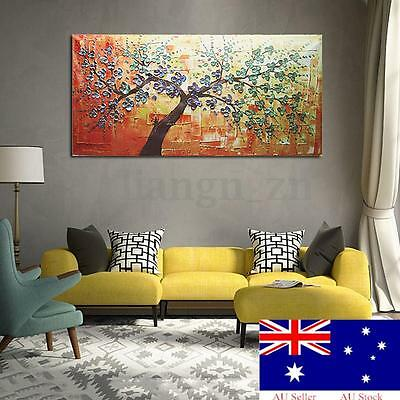 No Frame HD Modern Abstract Oil Painting Canvas Prints Tree Wall Art Decor