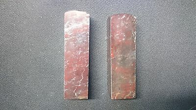 Chinese shoushan chicken blood stone stamp seal uncarved red tall rare old