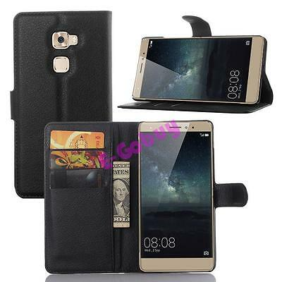 Luxury Magnetic Flip Cover Stand Wallet Leather Case Skin for Huawei Phones