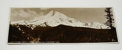 Vtg Mt Mount Hood Oregon Photo Ralph J Eddy Parkside Panel Photograph OR