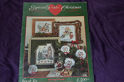 ESPECIALLY AT CHRISTMAS  ~ Chart ~ Stoney Creek ~ CROSS STITCH ~ Book 80