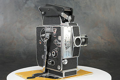 - Bolex H16 M-5 16mm Movie Camera Body, Takes 400' Magazine