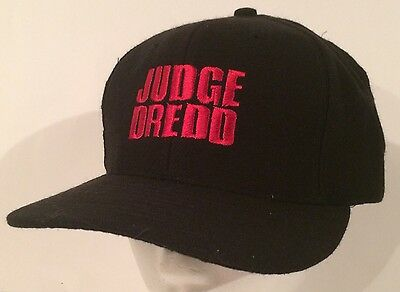Vtg Judge Dredd Movie Promo Hat Sylvester Stallone SnapBack Cap Film Advertising