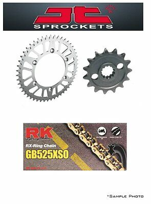 Triumph 865 America 07-12 JT/RK 525XSO X-ring Gold Chain and Sprocket Kit