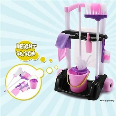 Children's Toy Cleaner Play Set Includes Complete Cleaning Tools