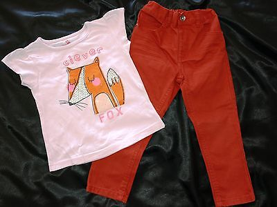 George  ~ Young Dimension ~ Shirt  ~ Hose ~ Fox ~ Gr. 3 - 4 Jahre • EUR 12,00