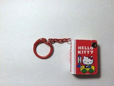 1976 Hello kitty phonebook keychain
