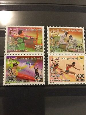 Iraq 2012 MNH London Olympics Stamps