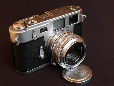 Aires IIIC Rangefinder Camera with 45mm f/1.9 Lens, Refurbished, Ready to Shoot