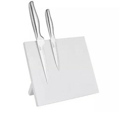 ERNESTO Magnetic Knife Block Stand Holds Knives Not Included