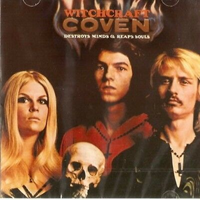 """Coven: """"Witchcraft Destroys Minds & Reaps Souls"""" (CD)"""