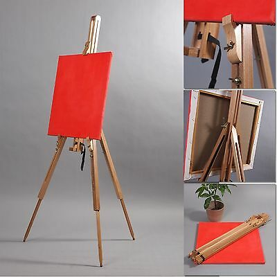 PORTABLE SKETCH EASEL KLIMT | Beech wood, for stretched canvas, for artists