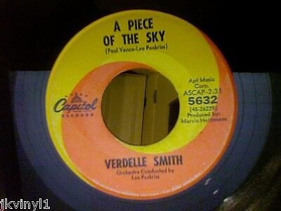 Verdelle Smith-A Piece Of The Sky-On Capitol 5632. Vg+
