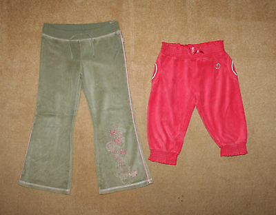 Two pair of joggers / trousers / pants Pumpkin Patch & Girl2Girl Sz 6 y / 5-6 yr