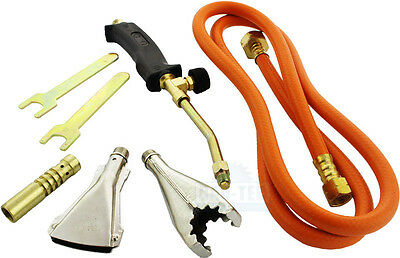 Heating Torch Set Propane Gas Blow Plumber Roofing Soldering Brand New