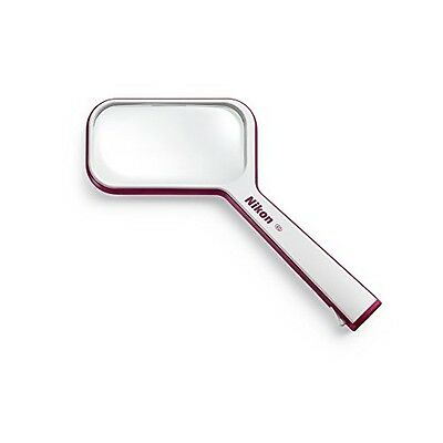 NEW Nikon Ha0902 Reading Magnifier S1-4D (1.5x) Square type Blue Red