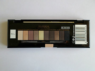 L'Oreal Paris La Palette Nude Beige Color Riche Eye Shadow and Brush Compact