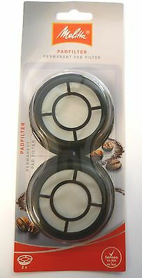 Pack Of 2 Melitta Permanent Coffee Filter Pad Philips Senseo Coffee Machine